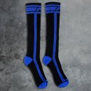 Fetish Long Socks - blue
