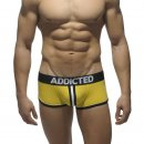 Double Piping Bottomless Boxer yellow