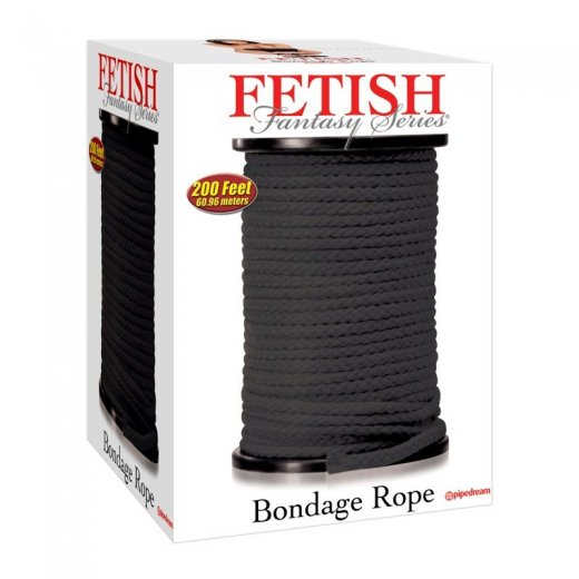 Bondage Rope black