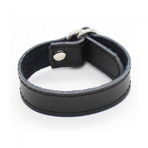 Leather Snap Cockring
