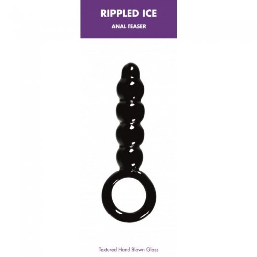 Rippled Ice Anal Teaser Black
