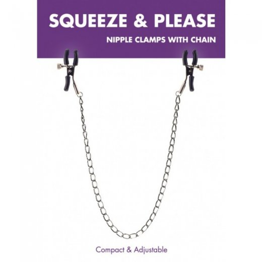 Squeeze & Please Nipple Chain