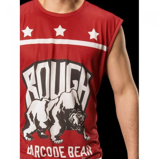 Tank Top Rough - red