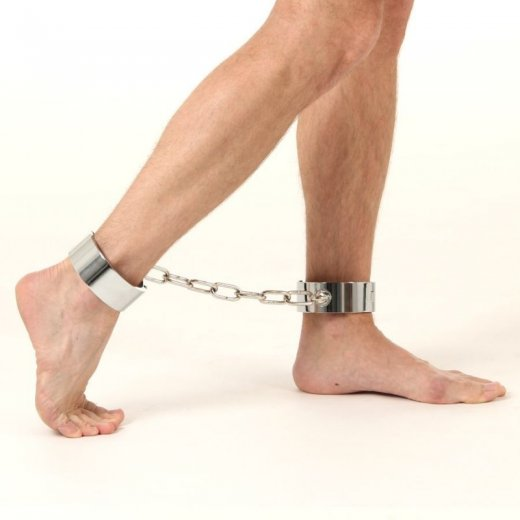 Hard Steel Ankle Restraints