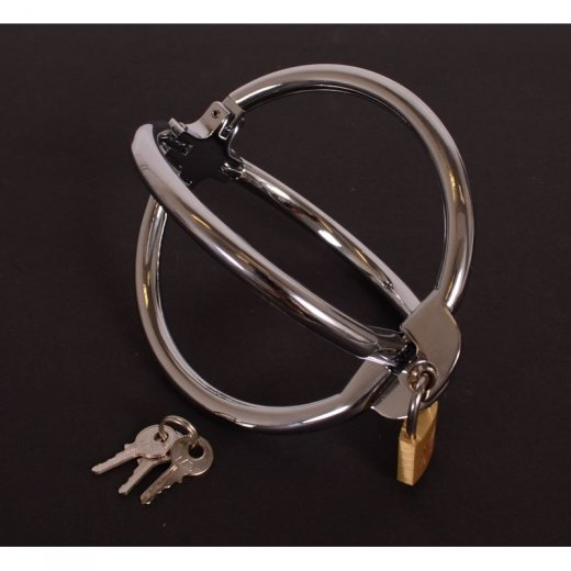 Cross Handcuffs with Key